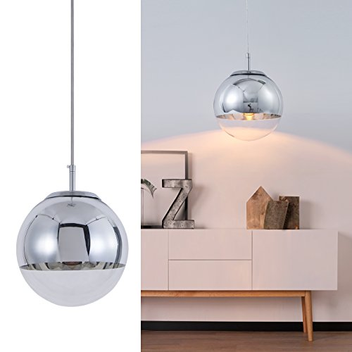 Glass Ball Pendant Light Fixture