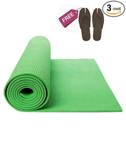 Amazon.com: Sampada Synthetics Yoga Mat, Exercise Mat ...