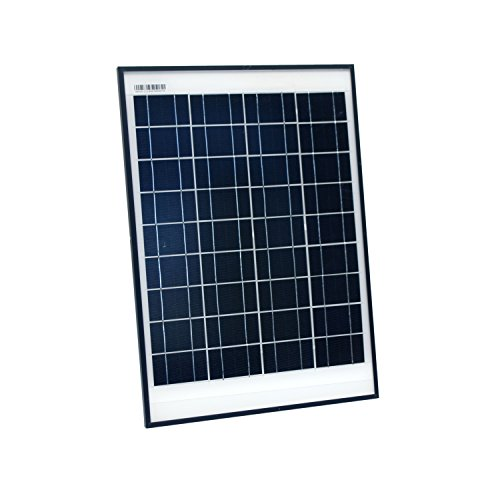 - ALEKO SP20W24V 20 Watt 24 Volt Monocrystalline Solar Panel for Gate Opener Pool Garden Driveway