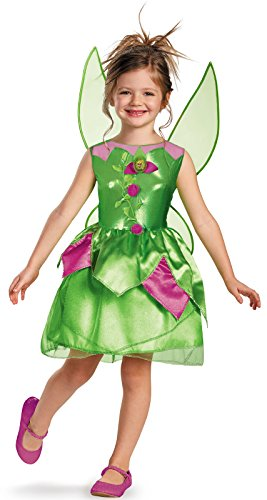 Disney Fairies Tinker Bell Classic Girls Costume, (Halloween Costume 3t)