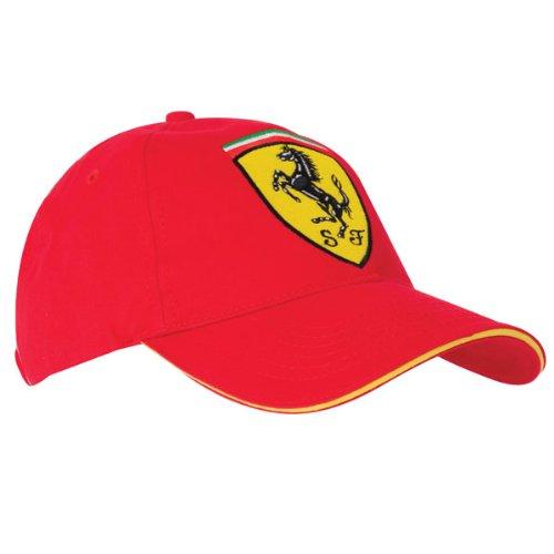 Única Rojo Scudetto Ferrari Gorra Rojo 1T8wWAwq