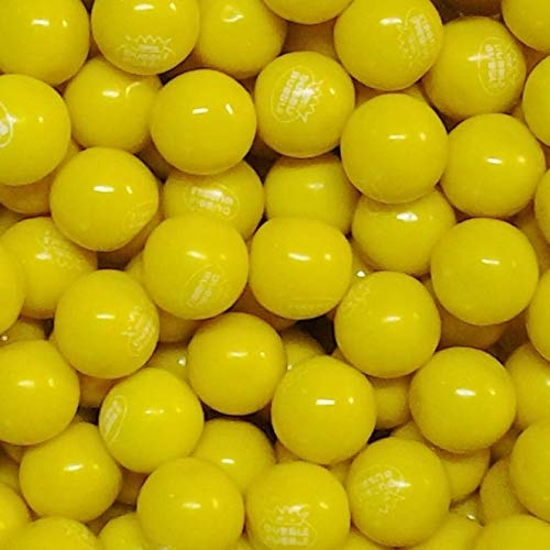 Dubble Bubble Yellow Gumballs - 1 Pound Bulk Pack