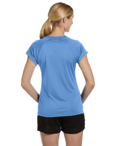 Double Dry Essential nbsp;nbsp;t Scollo Champion shirt azzurro A Blu V Con UGLMSVpqz