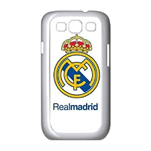 Samsung Galaxy S3 9300 Cell Phone Case White Real Madrid pjl