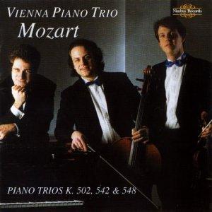 Mozart: Piano Trios K.502, 542 & 548 By Mozart (Composer),,Vienna Piano Trio (Performer) (0001-01-01)