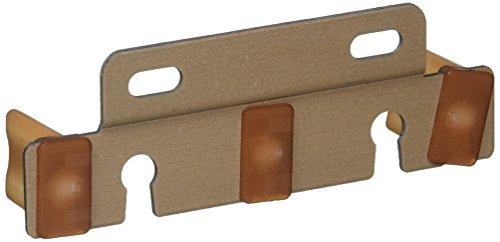 Johnson Hardware 2135PPK1 Bypass Door Adjustable Guide For 3/4-Inch Or 1-3/8 -Inch Doors by Johnson Hardware (Image #1)