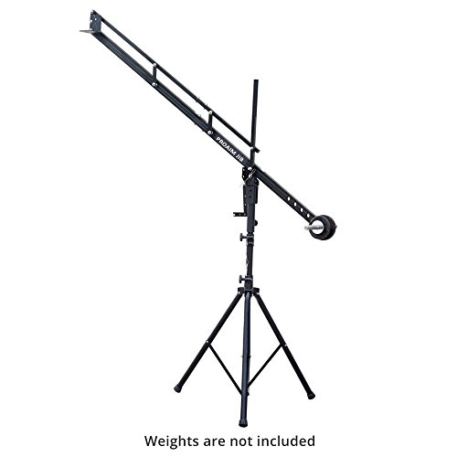 PROAIM 9ft Mini Camera Crane Portable Jib with Tripod Stand (P-9-TS) for DSLR Video Cameras up to 8kg/17.6lbs | Best Travel-Friendly Jib with Carrying Bag by PROAIM