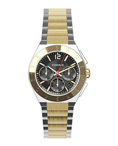 Versace Mens Landmark Round Watch VEWO00518 ()