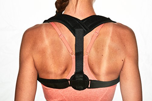 Posture Corrector for Women & Men – Comfortable and Effective Back Brace against Slouching & Hunching - Subtle Design – Clavicle Support For Medical Problems & Injury Rehab by Scandic Gear (Image #7)