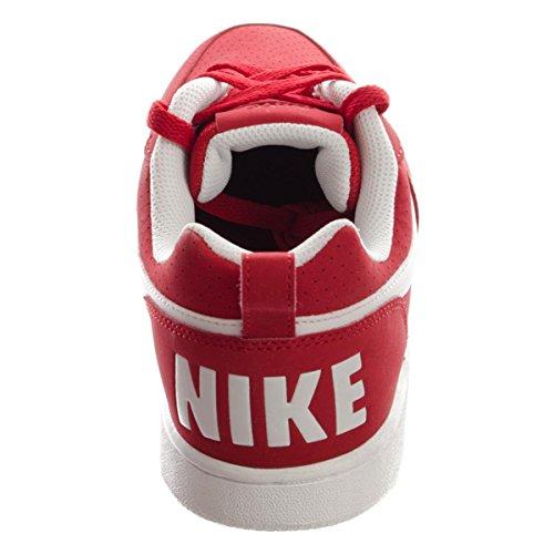 Baloncesto Red Borough Low Nike White gym Para Rojo Hombre Court Zapatillas De wBUOXqa