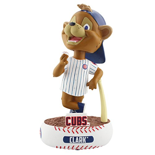 Forever Collectibles Chicago Cubs Mascot Chicago Cubs Baller Special Edition Bobblehead MLB ()