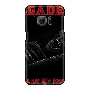 MansourMurray Samsung Galaxy S6 Durable Hard Cell-phone Cases Allow Personal Design HD Megadeth Band Pattern [ogS13651wVbT]