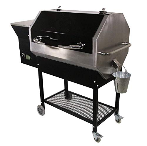 REC TEC Grills | RT-590 | Bundle | WiFi Enabled | Portable Wood Pellet Grill | Built in Meat Probes | Stainless Steel | 30lb Hopper | 4 Year Warranty | Hotflash Ceramic Ignition System