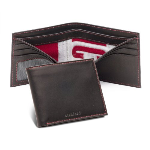 Tokens & Icons NCAA Collegiate Used Football Uniform Wallet-Stanford Univ(81ST)