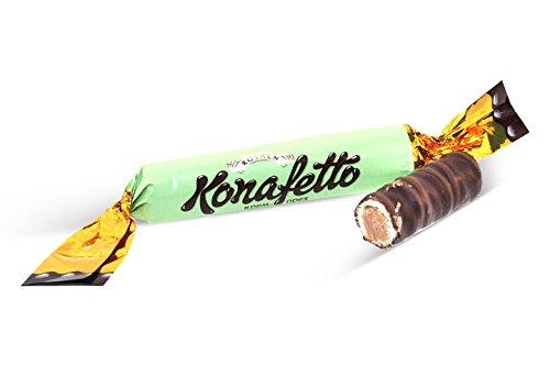 - Roshen, Konafetto Dark Choc. Cream & Nut Wafer Roll (1.250 Lbs)