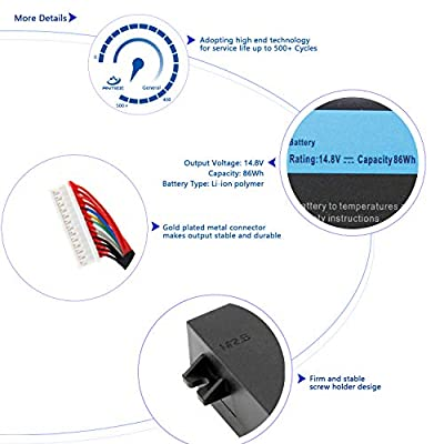 ANTIEE Compatible 2F8K3 Y400 C32N1301 CM03XL Battery