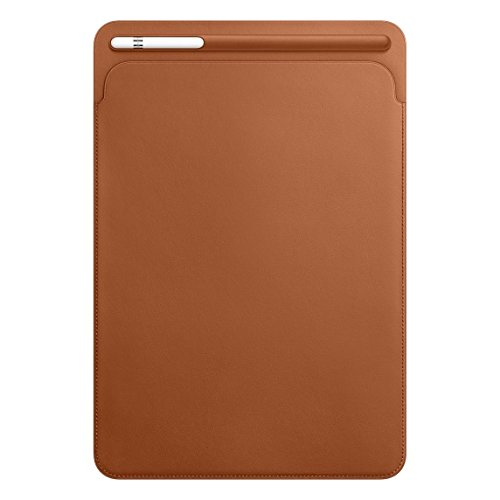2017 New IPad Pro Bundle (4 Items): Apple 10.5 inch iPad Pro with Wi-Fi 512 GB Gold, Leather Sleeve Saddle Brown, Apple Pencil and Mytrix USB Apple Lightning Cable by uShopMall (Image #5)