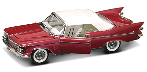 al Crown Convertible, Plum - Lucky 20138 - 1/18 Scale Diecast Model Toy Car ()