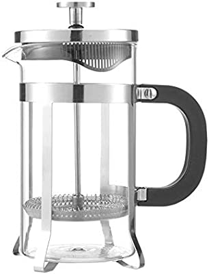 WPCBAA Cristal de Acero Inoxidable Hueco de Tres Capas diseño Fino de Filtro cafetera cafetera Tetera de Prensa émbolo 350 ml / 600 ml (Size : 350ML): Amazon.es: Hogar