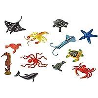 İthal 12'li Deniz Hayvanları Oyuncak