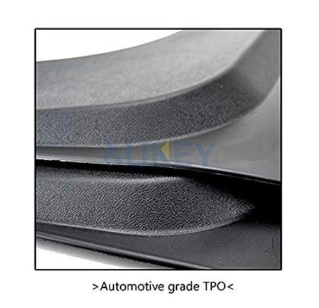 XUKEY Universal passend f/ür Pickup LKW SUV Schmutzf/änger Spritzschutz vorne und hinten 4-teiliges Set