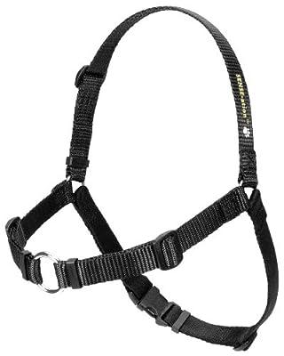 SENSE-ation No-Pull Dog Harness - Black Medium/Large (Narrow)