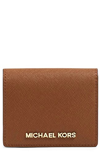 Michael Kors Jet Set Travel Flap Card Holder (Luggage) (Flap Womens Card Holder)