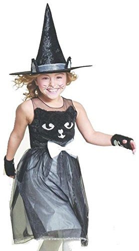 Hyde and Eek! Boutique Girl's Kitty Cat Witch Costume Small (Target Cat Costume)