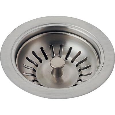 Delta Faucet 72010-PN Kitchen Sink Flange & Strainer