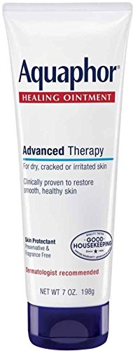 Aquaphor Healing Ointment Advanced Therapy Skin Protectant 7 oz (Pack of - Therapy Ointment Skin
