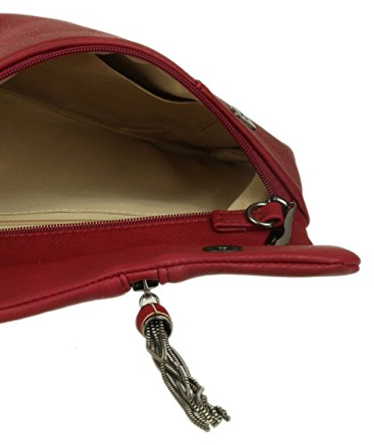 Pochettes Girly Girly Bordeaux femme Handbags Handbags w4vq4tU0
