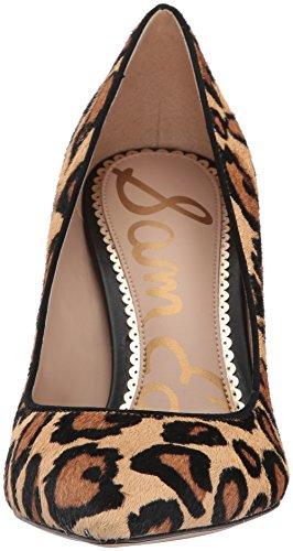 Edelman Sam Hazel Pump New Leopard Nude Women's TqOdBrFq