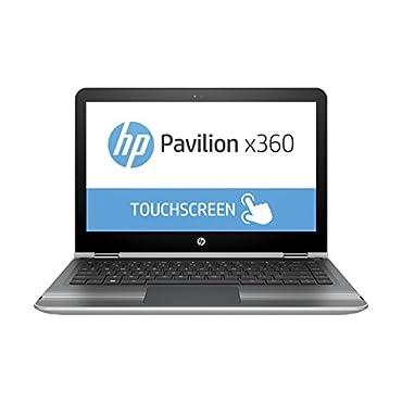 2016 HP Pavilion x360 2-in-1 13.3 Touchscreen IPS High Performance Laptop, Intel Core i3-6100U Processor, 6GB RAM, 500GB HDD, 8-hour Battery Life, 802.11ac, Webcam, HDMI, No DVD, Windows 10