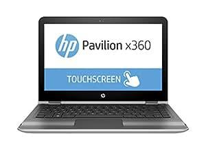 "2016 HP Pavilion x360 2-in-1 13.3"" Touchscreen IPS High Performance Laptop, Intel Core i3-6100U Processor, 6GB RAM, 500GB HDD, 8-hour Battery Life, 802.11ac, Webcam, HDMI, No DVD, Windows 10"