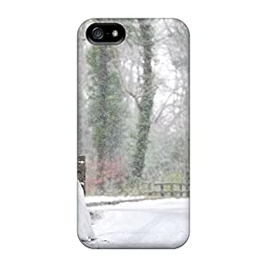 For Iphone Case, High Quality Winter Love For Iphone 5/5s Cover Cases