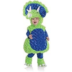 Underwraps Disfraces del bebé Triceratops Costume, color Multi, talla Medium (18-24 Months)