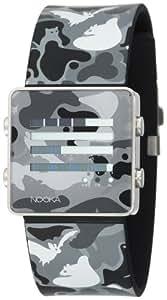Nooka Unisex ZENH-CAMO-GG ZenH Camouflage Grey Aluminum Watch