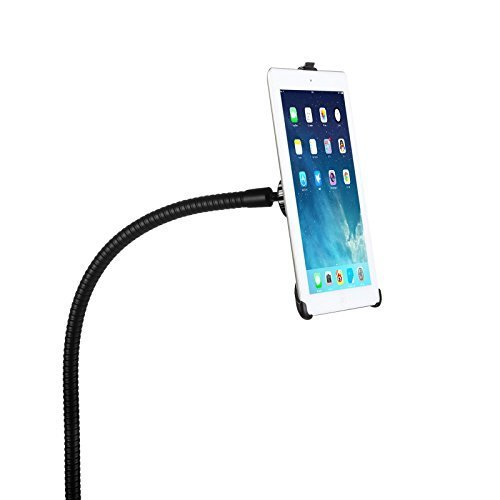 BESTEK Gooseneck Bolt Clamp Mount Tablet Holder Stand for iPad 2/3/4/Air/Mini (Ipad Air 2 Stands compare prices)