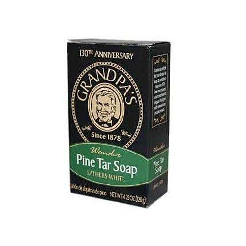 Pine Tar Bath Products - Bath Size Soap Bar 4.25oz by Car...