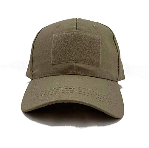 MORTHOME Fitted Tactical Operator Velcro Patches Cap (Tan)