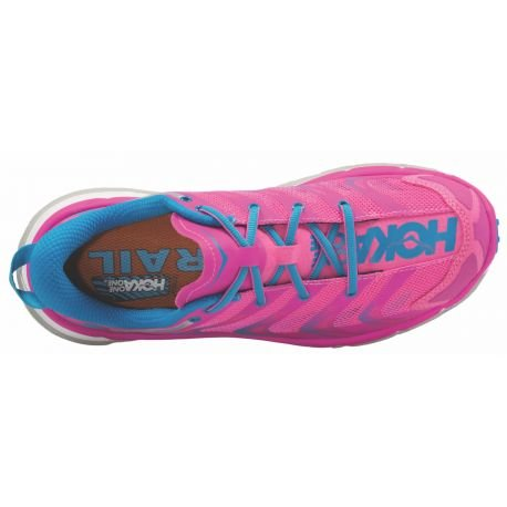 Hoka One One Speedgoat, Running women 39 Fuchsia / Blue