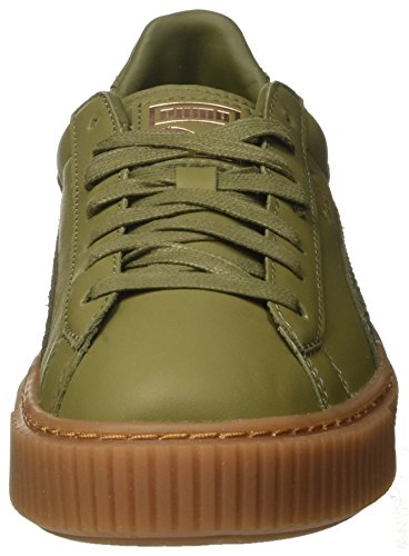 Ochre rose Puma Platformphoria Gum Gold Sneakers Basket Femme Basses Burnt Vert qz8zPwxcB