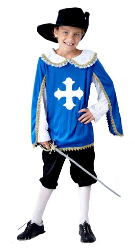 [Fancy Dress Costume Unisex-Baby Musketeer Age 7-9] (Musketeer Sword Costume)