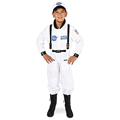 White Astronaut Child Costume