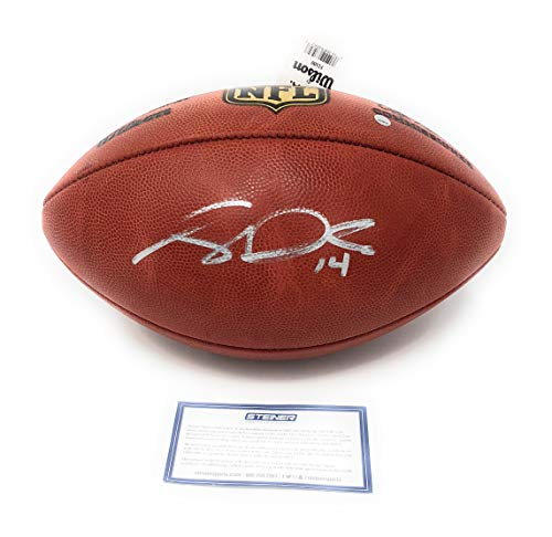 Sam Darnold New York Jets Signed Autograph NFL Authentic Duke Football 14 Steiner Sports Certified ()