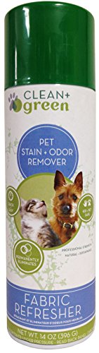 onal Strength Fabric Refresher Pet Stain Remover, Deodorizer, Odor Eliminator for Dogs and Cats, 14 Ounce ()