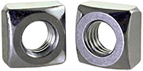 "B07P9KR1S7 5/16""-18 Square Nuts Grade 2 Steel/Zinc Plated (Quantity: 2500) 41Dgfnb0SKL."