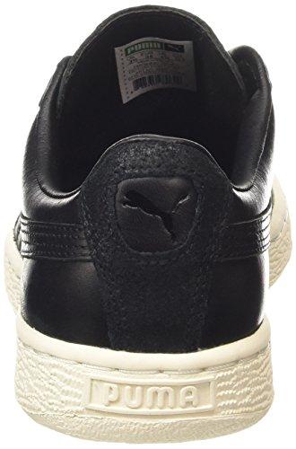 Series Para Puma Hombre Zapatillas Basket schwarz Citi White black whisper Nero 03 qn77SE