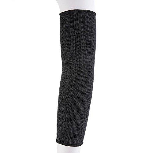 Arm Protection Sleeve, Kevlar Sleeve Anti-Cut Burn Resistant Sleeve,Anti Abrasion Safety Armband for Garden Farm Work/Black(A Pair)