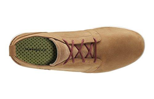 Superfeet Douglas Heren Het Comfort Ongedwongen Boot Chipmunk / Tortelduif